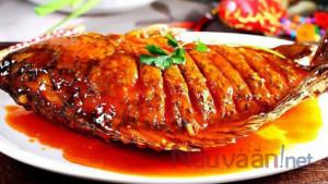 Cách làm cá chép chiên giòn sốt cà chua không tanh, thơm ngon đậm đà