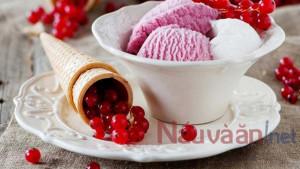 Công thức làm kem khoai môn cốt dừa mềm xốp không cần dùng máy làm kem.
